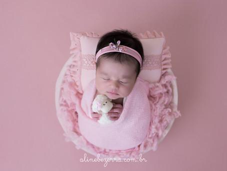 Newborn Antonella - Mamãe Júlia Neto