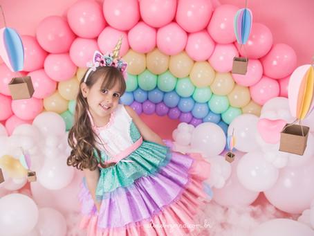 Ensaio 5 Anos Zayra