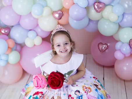 Ensaio 3 Anos - Valentina