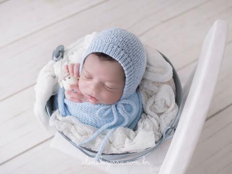 Ensaio Newborn Bernardo - 9 dias