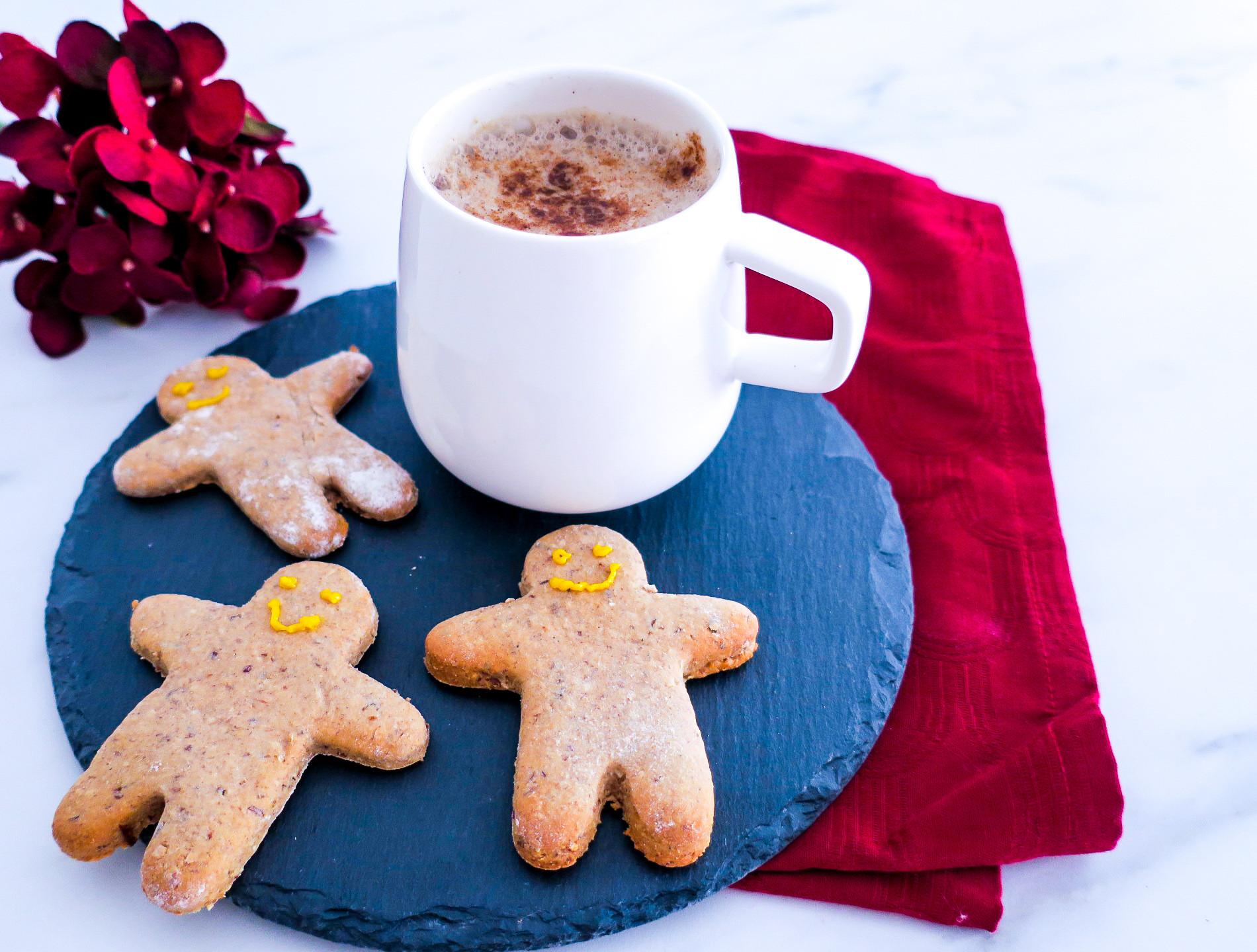 Vegane Spekulatius Chocolate Latte #vegan #healthy #recipe #christmas #spekulatius #chocolate #latte #plantbased #gesund #einfach #lifestyle