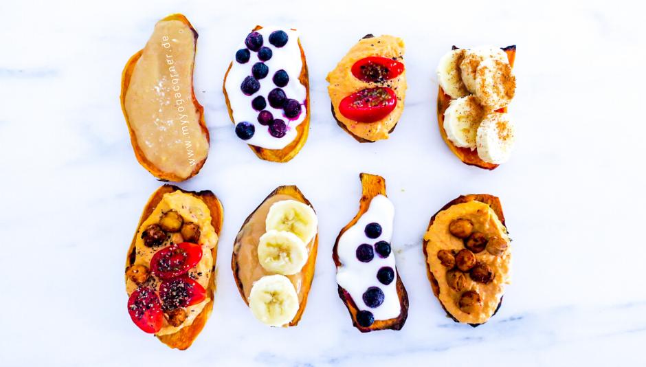 Süßkartoffel Toast  #rezept #süßkartoffeln #sweetpotatoe #toast #frühstück #breakfast #gesund #schnell #einfach #easy #healthy #vegan #recipes #clean #snack