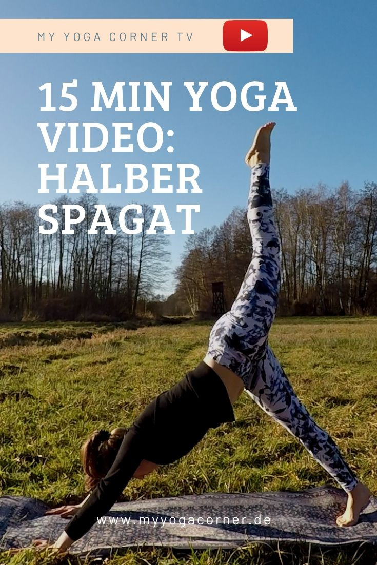 Halber Spagat Yoga #yoga #spagat #beweglichkeit #yogini #asana #pose #easy #fitness #power