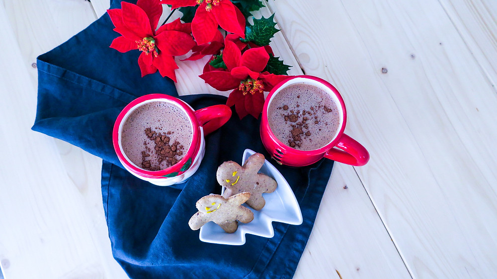 Rezept Healthy Dark Hot Chocolate