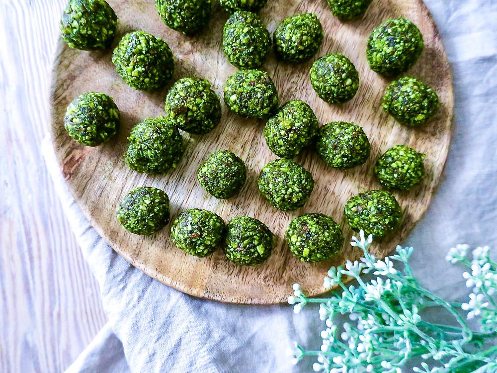 weihnachtliche Beauty Snow Balls