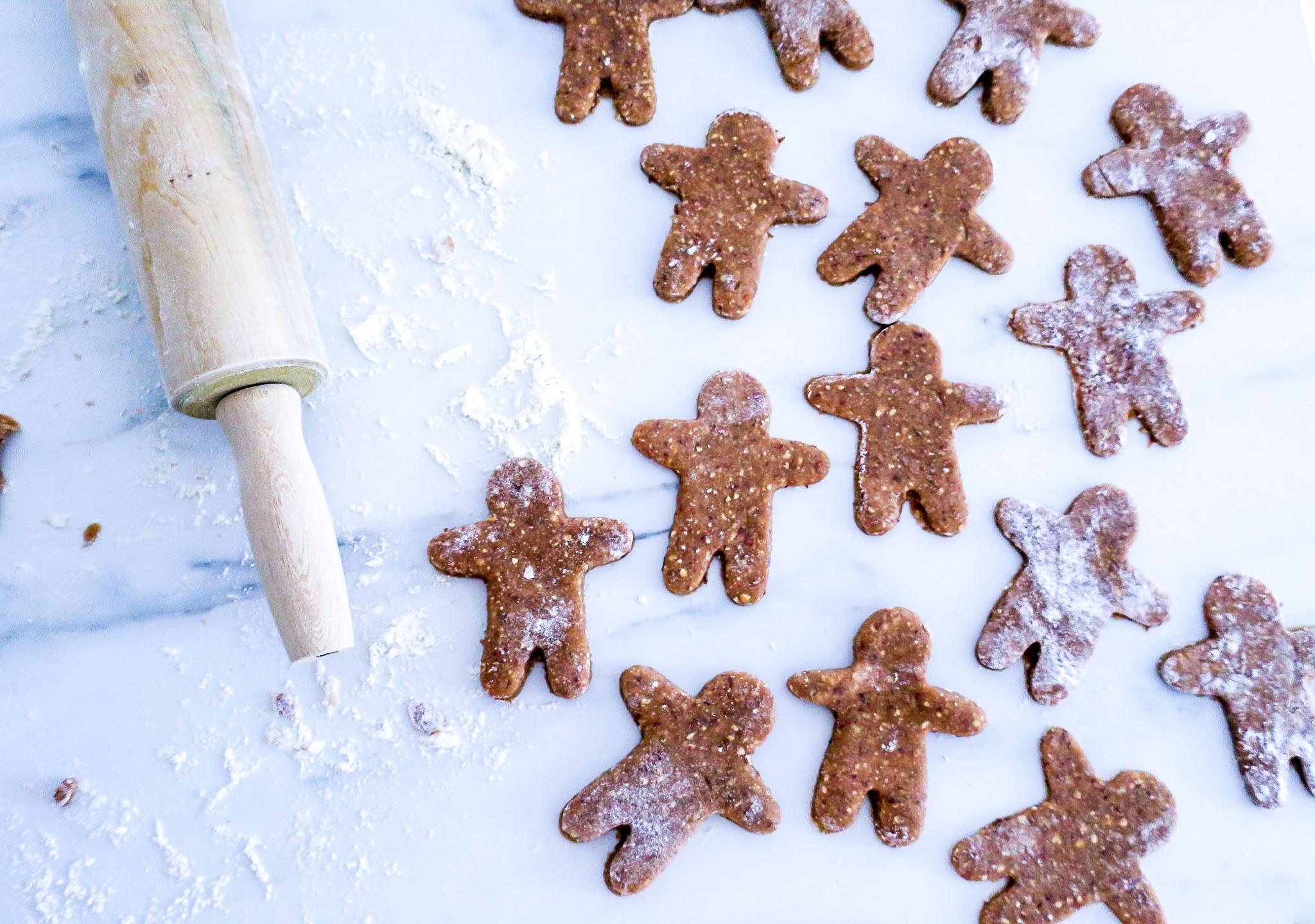 Vegane Lebkuchen Männer #weihnachten #gesund #kekse #healthy #vegan #rezept #recipe #easy #quick