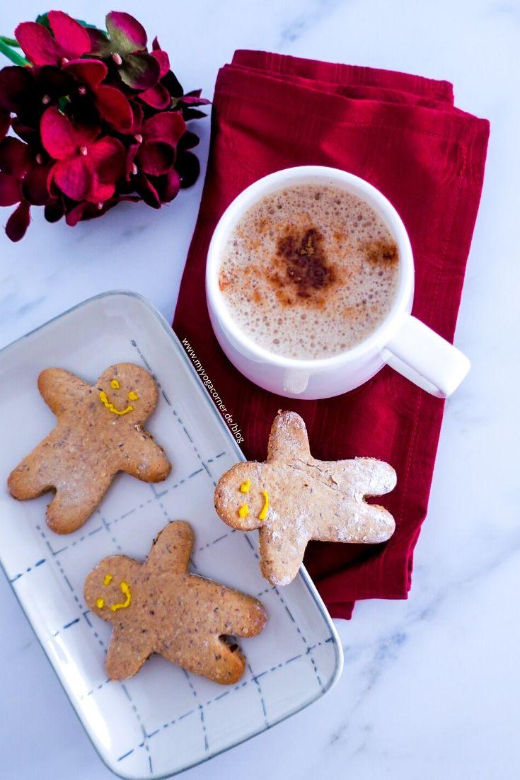 Vegane Spekulatius Chocolate Latte #vegan #healthy #recipe #christmas #spekulatius #chocolate #latte #plantbased #gesund #einfach #easy