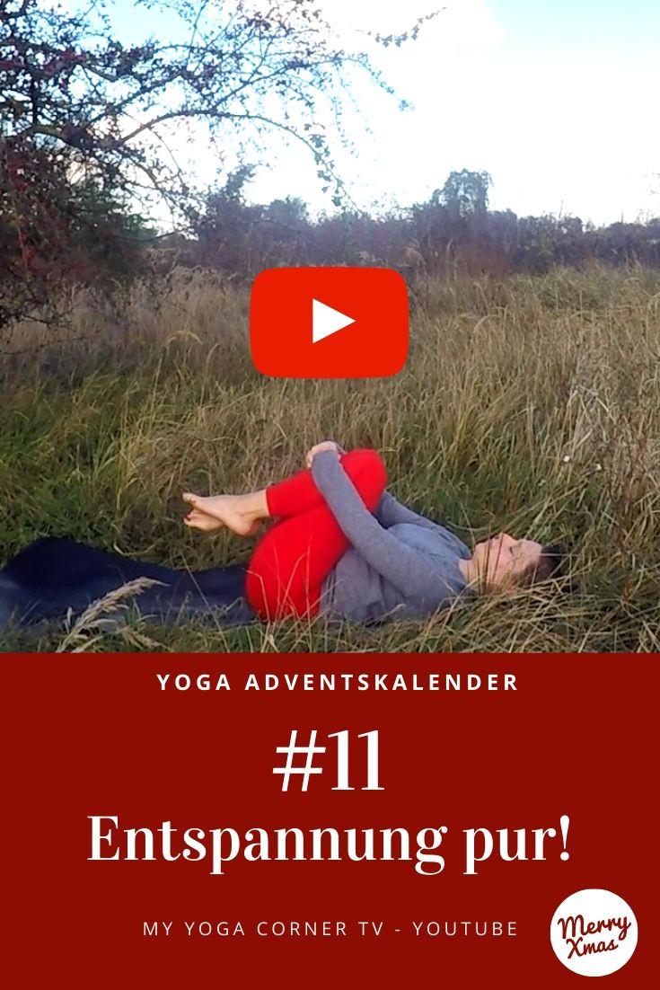 Yoga Türchen Nr. 10 Oberkörper Dehnung - my yoga corner Adventskalender #yoga #adventskalender #yogavideo #pose #asana #dehnung #anfänger #schultern #nacken #entspannung #lockern