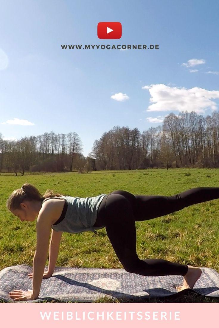 Fresh Power Start - Follikular Yoga // Weiblichkeitsserie #yoga #cycle #weiblichkeit #female #hormones #asana #pose #video #easy #workout #cycle #syncing #follicular