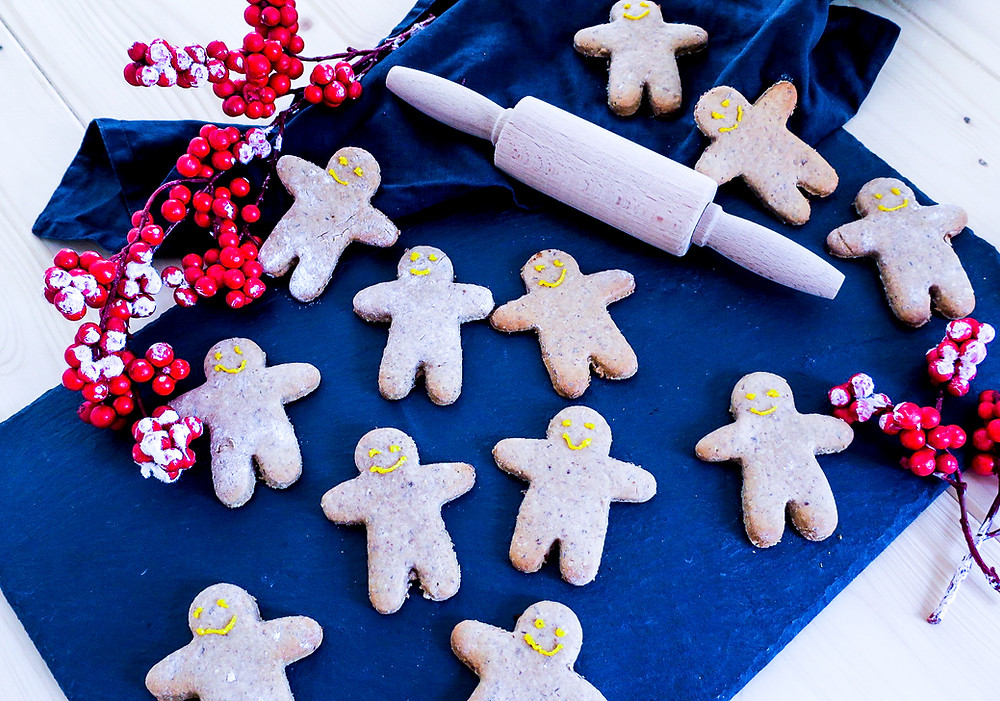 Vegane Lebkuchen Männer #weihnachten #gesund #kekse #healthy #vegan #rezept #recipe #easy #cookies
