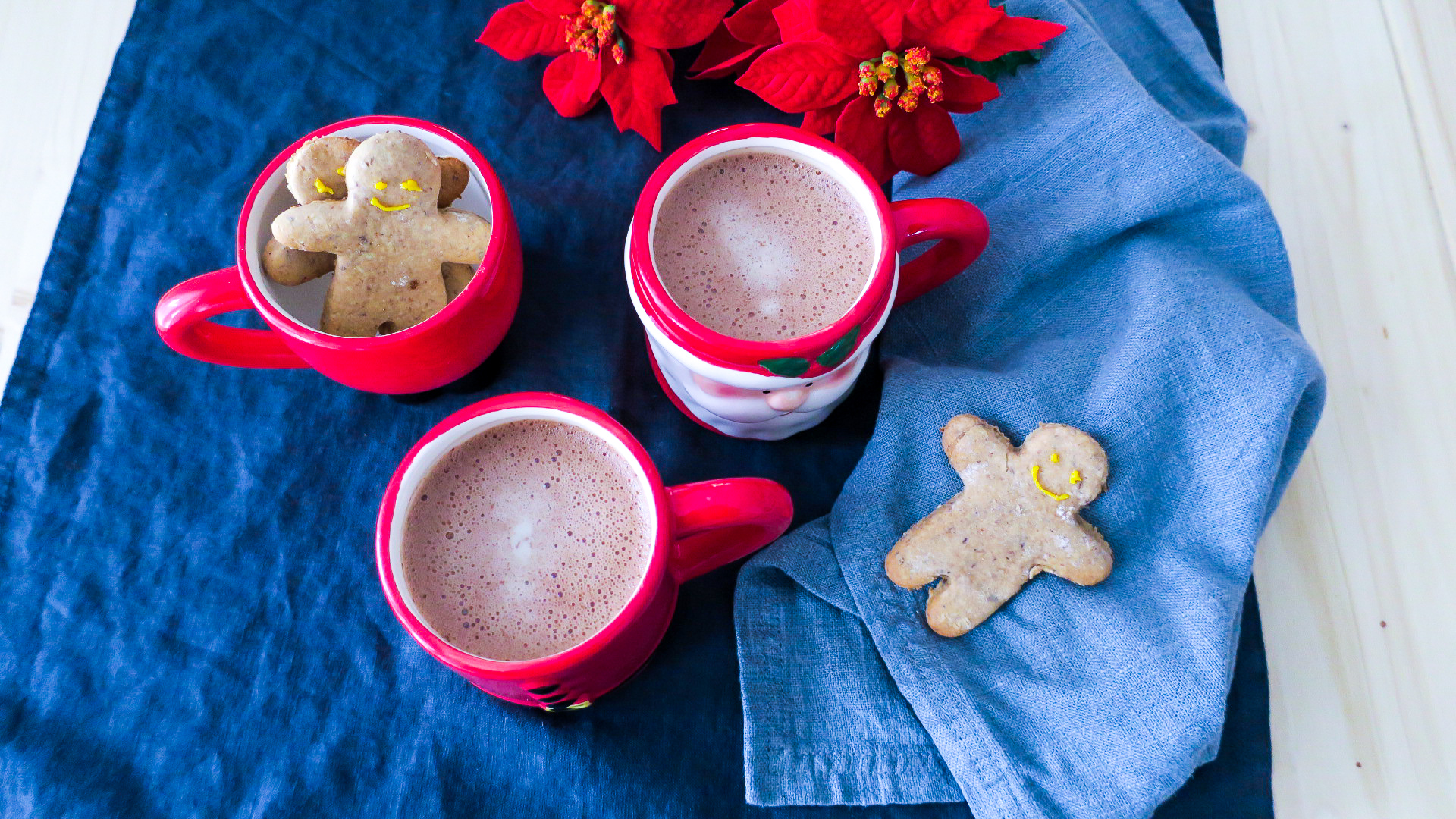 Rezept Healthy Dark Hot Chocolate