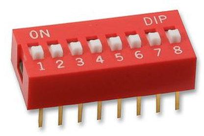 8 pin DIP switch