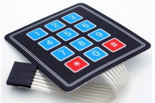 4*3 Keypad Membrane Switch