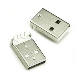USB Female SMD Connect To RA Type