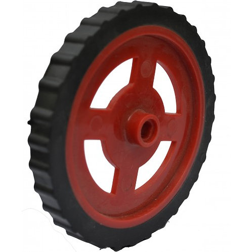 105mm Large Red Wheel