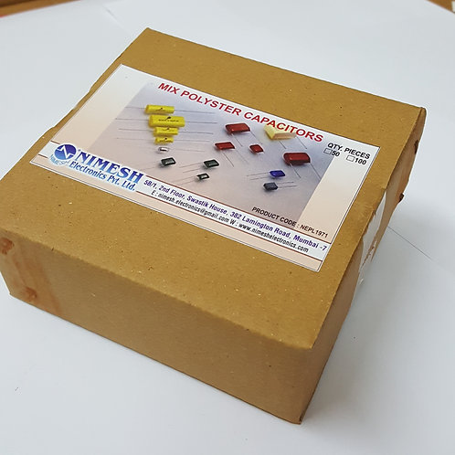 Mix polyster Capacitor. (TH)