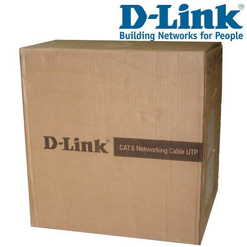 D-Link Cat 6 Cable 305 Meter