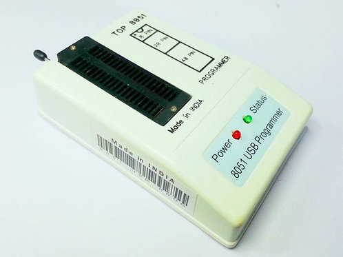 TOP 8051 USB PROGRAMMER  (White)