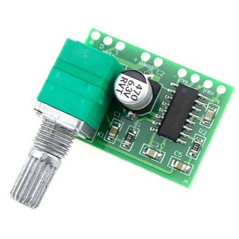 PAM8403 Mini 5V Audio Amplifier Board With Switch Potentiometer
