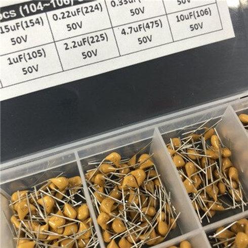 33-Values-645pcs-Capacitor-Assorted-kit-Ceramic-Multi layer