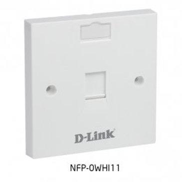D Link Single Face Plate
