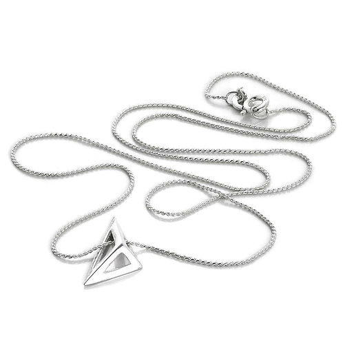 Triangle Structure Necklace