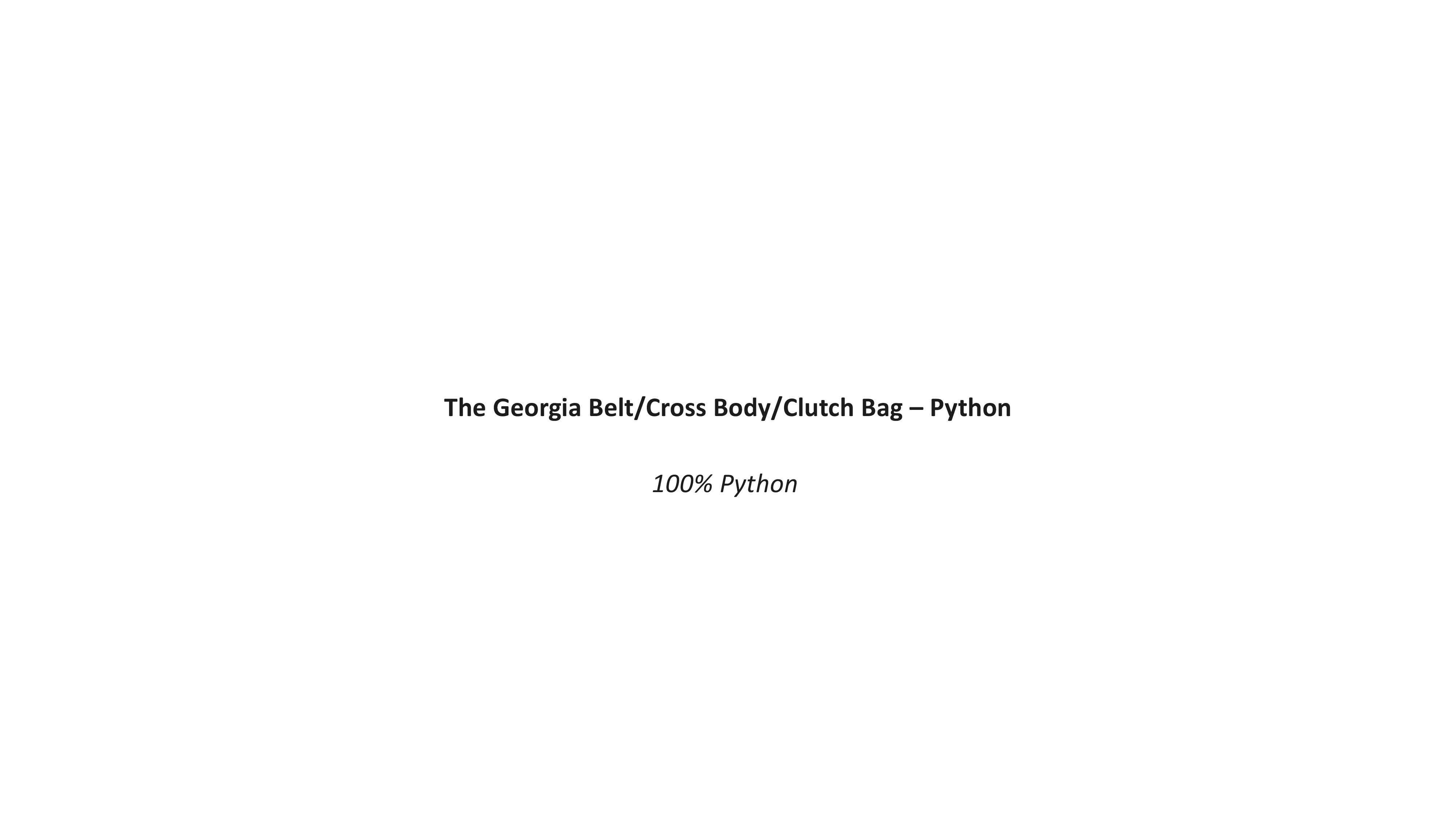 BRUSH PYTHON LOOK BOOK-3