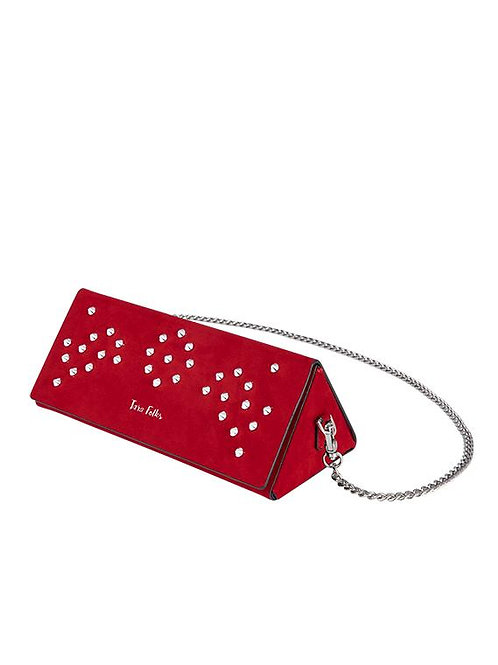 Twelve Oaks Clutch by Tara Folks - Red Diamond