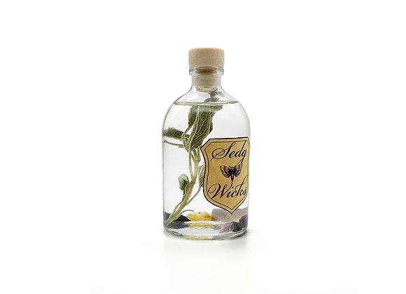 Sage & Crystal Soothing Bath Oil