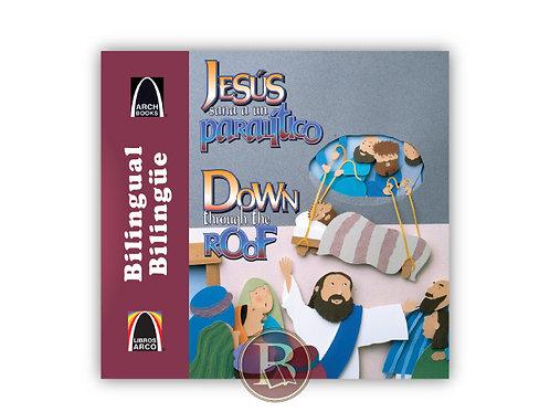 Jesús sana a un paralítico