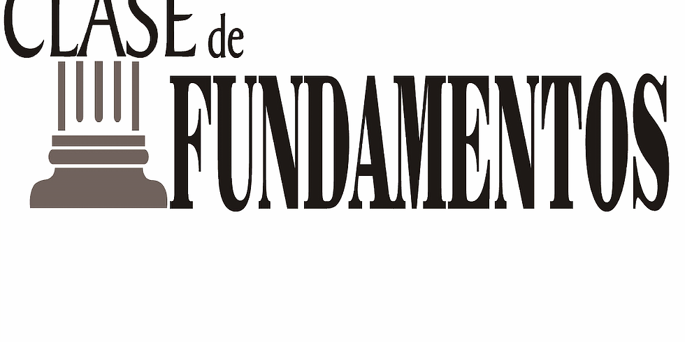 Clase de Fundamentos