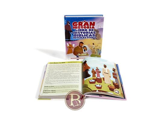 La gran historia interactiva. Libro de historias bíblicas.