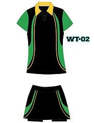 Women's Tennis Uniform