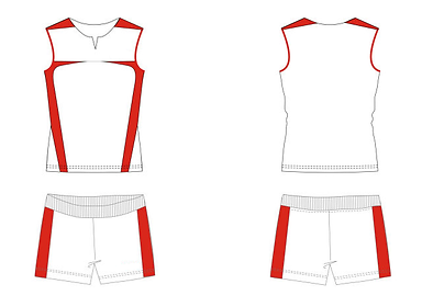 Women's Volleyball Uniform