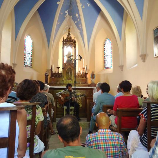 Solo concert, chapelle de Provins