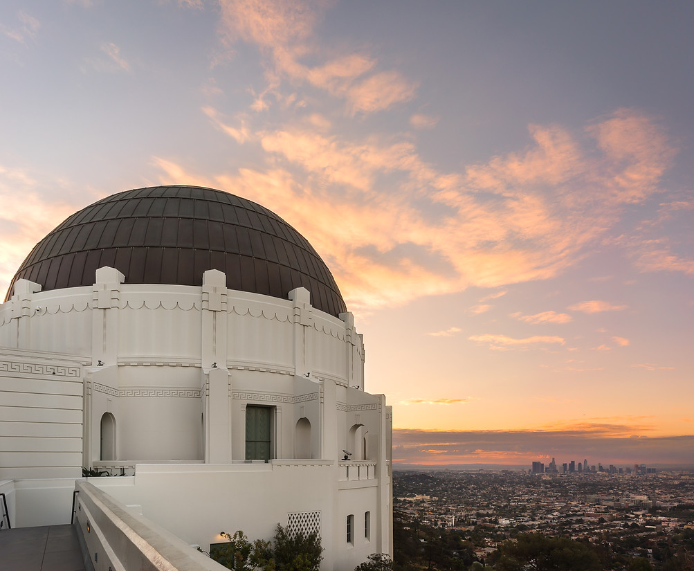 Griffith Park Observatory Sunrise