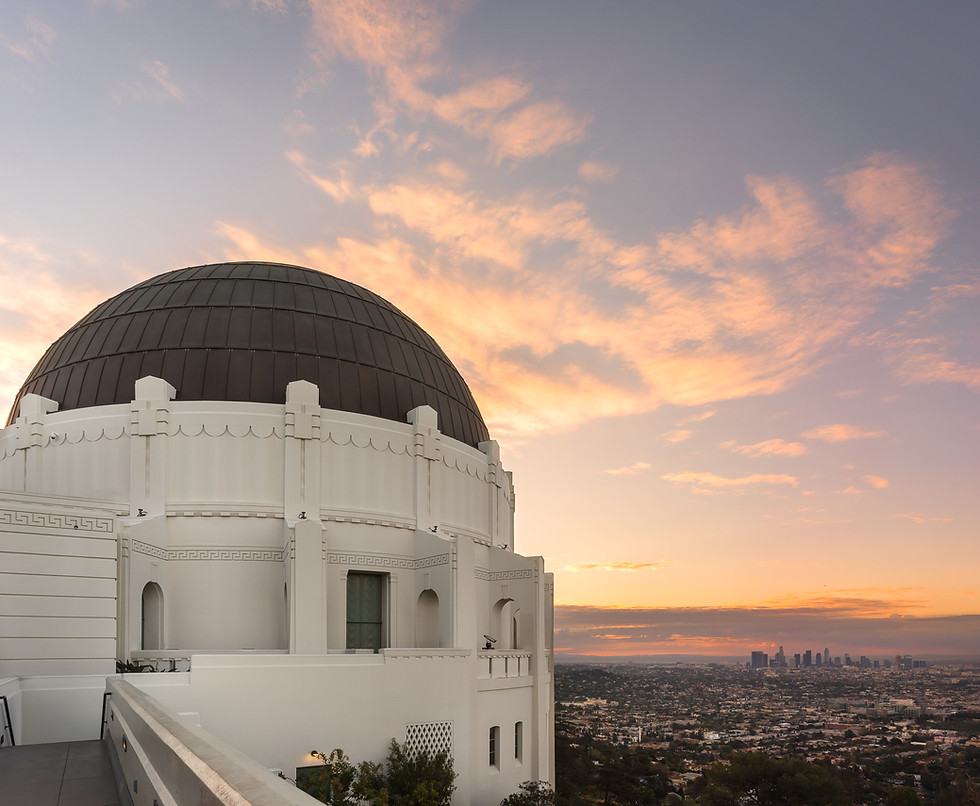 Griffith Park Observatory Sunrise