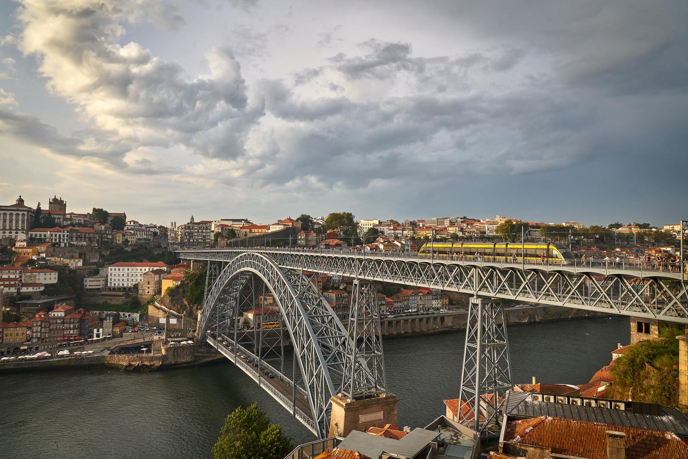 EXT. Porto Bridge - Sunset - Limited Edition of 15