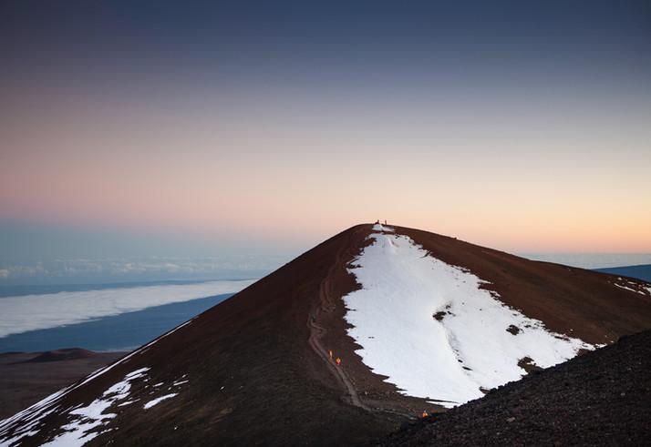 EXT. Volcano - Dusk