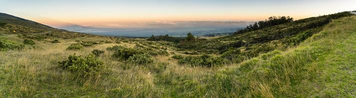 EXT. Haleakala - Dawn