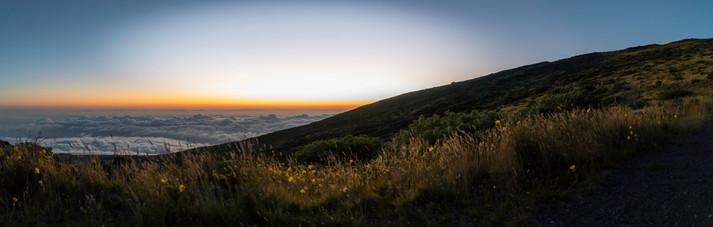 EXT. Haleakala - First Light