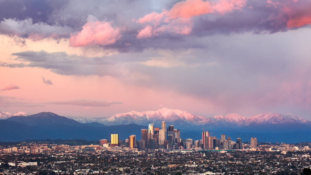 EXT. DTLA - Winter - Limited Edition of 15