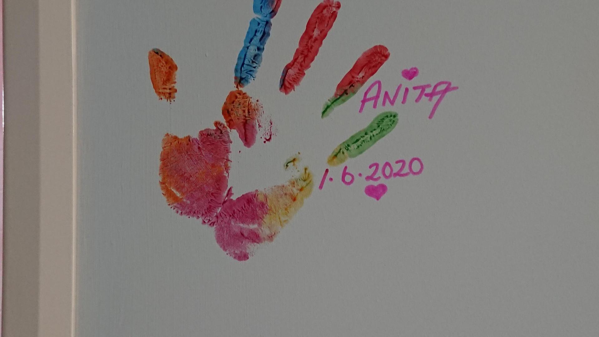 My First Handprint