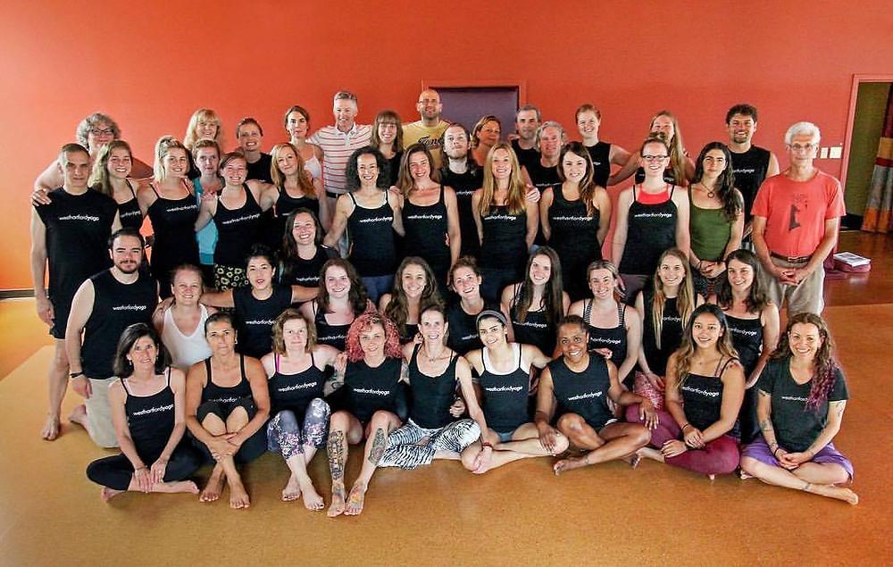 WHY 2017 Teacher Trainees (Photo Courtesy of West Hartford Yoga)