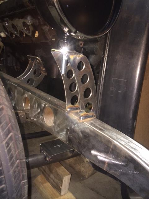 1946 Ford Headlight Brackets