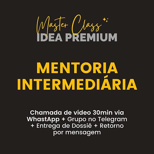 Master Class IDEA - MENTORIA INTERMEDIÁRIA