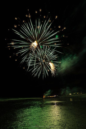 Feu d'artifice AgonCoutainville Stephane Levillayer Photo