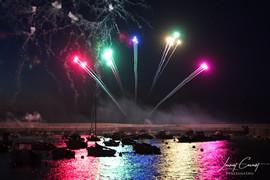 Régiasse au feu d'artifice de Port en bessin