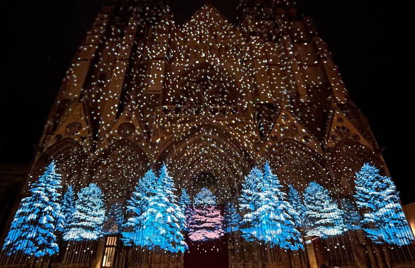 Illumination cathédrale Bayeux