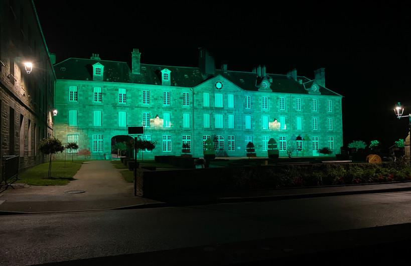 Illumination Musée Vire